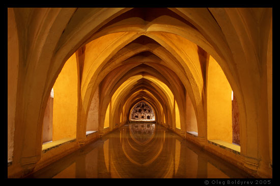 Old baths, Seville